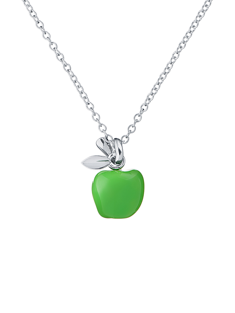 Apple Pendant Necklace
