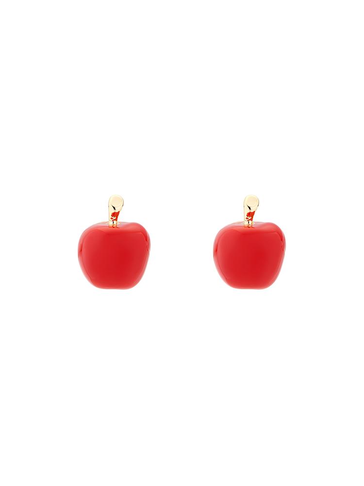 Apple Stud Earrings