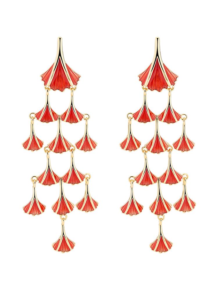 Aya Chandelier Earrings
