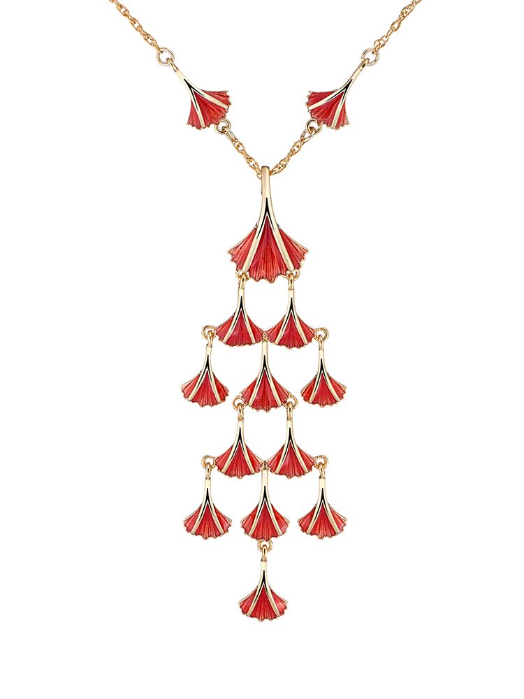 Aya Chandelier Pendant Necklace