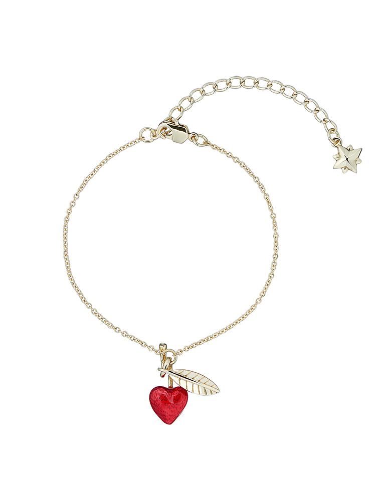 Cherry Enamel Bracelet