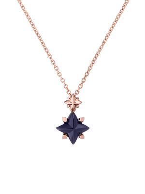 Glas Star Pendant Necklace
