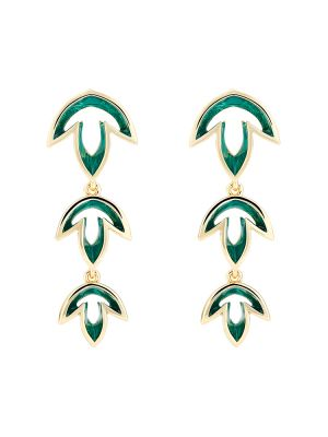 Johanna Leaf Drop Earrings