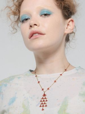 Aya Chandelier Pendant Necklace