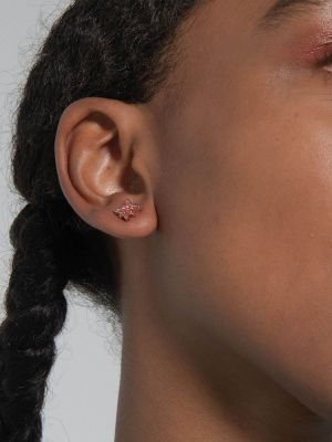 Stellar Pave Star Stud Earrings