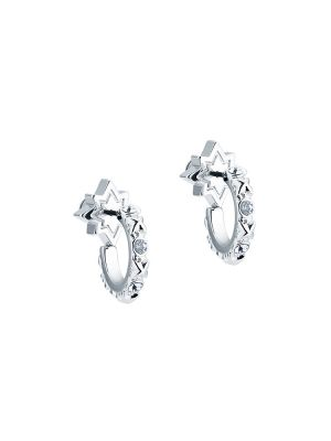 Bozena Mini Star Hoop Earrings