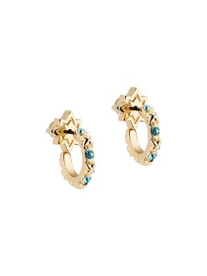 Bozena Mini Star Huggie Hoop Earrings